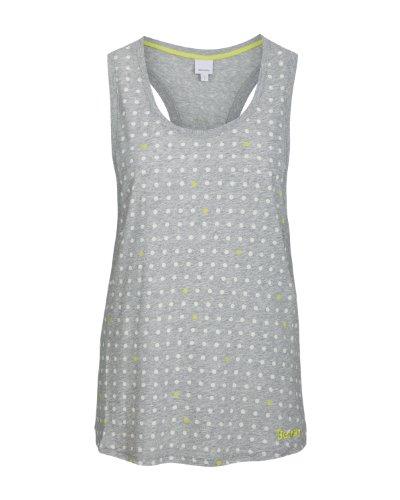 Bench - Top Jinny, Camicia di maternità Donna, Grigio (grey marl), Large (Taglia Produttore: Large)