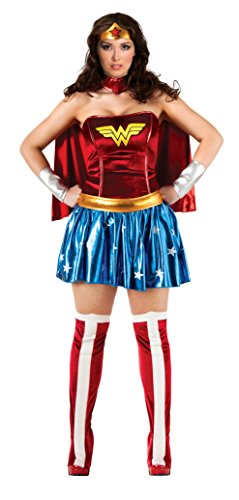 DC Comics Full Figure Wonder Woman Costume - Plus Size