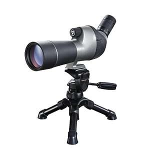 Vanguard High Plains 560 Longue vue compacte grossissement 15 à 45 x diamètre objectif 60 mm + Valise + Housse + Trépied de table + microfibre inclus