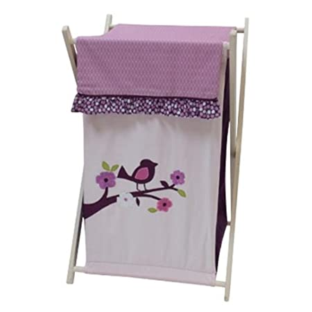 Plumberry Hamper, Plum, Pink, White