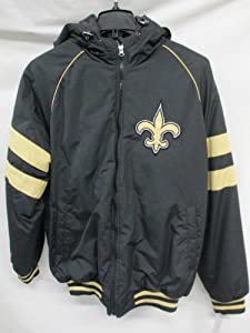 G-III New Orleans Saints Mens Medium Winter Jacket with Hood by G-III Sports