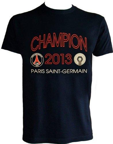 boutique du supporter maillots t shirt psg champion de france 2013 collection officielle. Black Bedroom Furniture Sets. Home Design Ideas