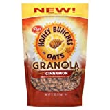 Honey Bunches Of Oats Granola Crunchy Cinnamon, 11 Oz Bags, (Pack Of 2)
