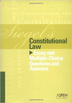 constitutional law essay exam questions