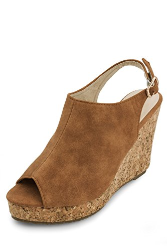 Cover Of The Earth Sling Back Wedges