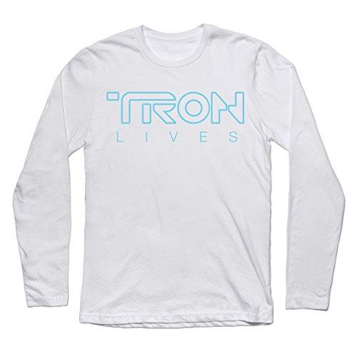 Tron Lives - Teepublic Male Medium Premium Long Sleeve Tee