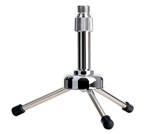 pronomic-mst-10s-tabla-pie-de-microfono-con-reductor-de-hilo-ideal-para-podcasting-adecuado-para-gra