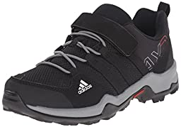 adidas Outdoor AX2 CF Hiking Shoe (Little Kid/Big Kid), Core Black/Core Black/Vista Grey, 4.5 M US Big Kid