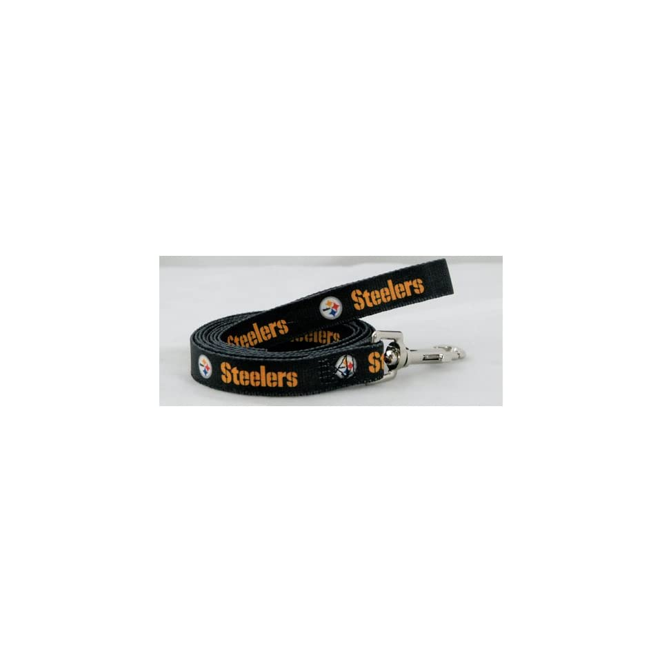 NFL Pittsburgh Steelers Pet Lead, Large, Team Color