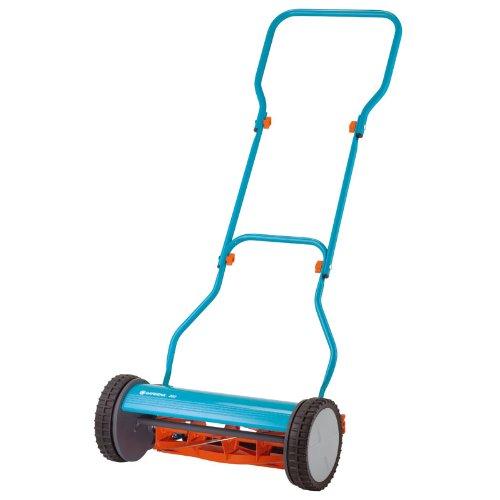 Gardena 4023 15-Inch Silent Push Reel Lawn Mower 380