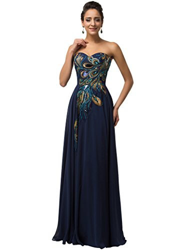 Evening Party Dress for Women Long Size 16