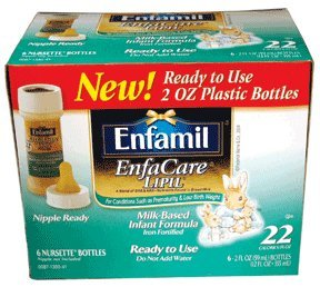 Enfamil Enfacare Lipil Milk Based Infant Formula - 2 Oz / Pack, 48 Ea