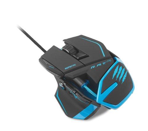 [Win8/Mac-Support] Mad Catz R. A. T. TE Turnier Edition Gaming Maus Matte schwarz 8200 dpi maximale pro 6 m nimmt die Schwingung von Licht Sensor Sensor dumping die Kontrollfunktion für Lift-Off und Distanz (MC-RTE-MB) Wenn die Maus nicht wahr.