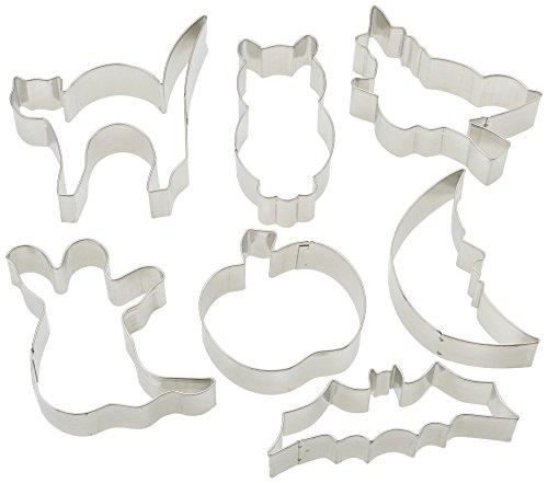 Ibili 723700 Lot de 7 coupe-pâtes étames Halloween (6,5..10 cm)