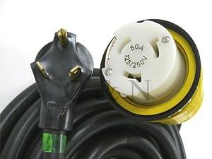Amazon.com : RV Power Cord 50 foot 30 amp to 50 amp