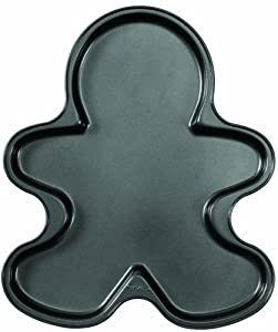 Wilton 2105-059 Nonstick Giant Gingerbread Boy Cookie Pan