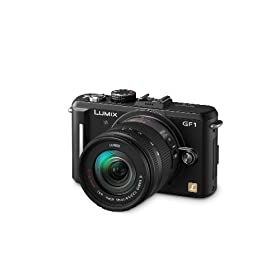Panasonic Lumix DMC-GF1 12.1MP Micro Four-Thirds Interchangeable Lens Digital Camera with 14-45mm Lens