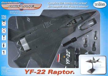 Testor 1/72 YF-22 TES860004N