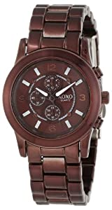 XOXO Women's XO5554 Brown Bracelet Analog Watch