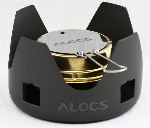 ALOCS アルコールストーブ バーナー CS-B02 ゴトク付き