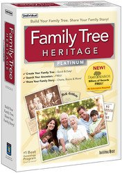 Family Tree Heritage Platinum (Win Xp,Vista,Win 7,Win 8) (Please See Item Detail In Description)