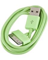 BestOfferBuy - Câble chargeur USB de couleur Verte pour APPLE iPad, iPhone et iPod