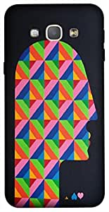 Timpax Protective Hard Back Case Cover With access to all controls and ports Printed Design : A Human mind.Specifically Design For : Samsung Galaxy A8