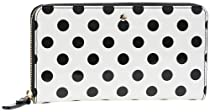 kate spade new york Lacey PWRU3530 Wallet,Clotted Cream/Black,One Size