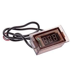 Amazon.com : KUKU Digital Voltmeter Led Auto Car Motorcycle Voltage