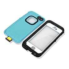 buy Red Pepper Waterproof Case Cover For Iphone 5 5S Grass Blue