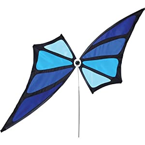 Blue Butterfly Lawn Windspinner