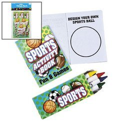 SPORTS ACTIVITY SETS (3 DOZEN) - BULK