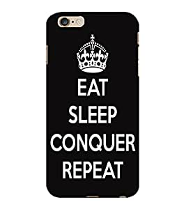 ColourCraft Quote Design Back Case Cover for APPLE IPHONE 6 PLUS