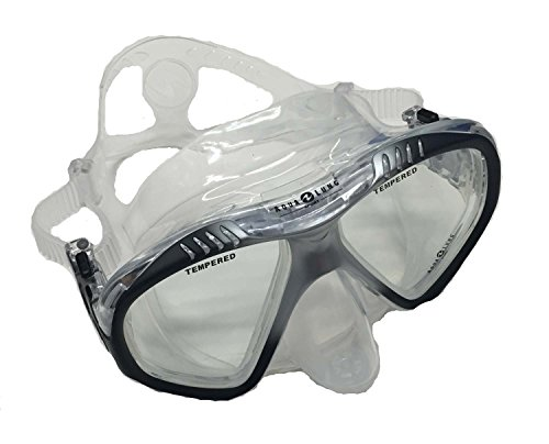 Aqua Lung PRO Series LX Adult Soft-Purge Premium Snorkel Swim Mask - Black (Aqua Lung Sport Pro Series compare prices)