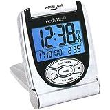 Vedette - 558.8132.11 - Réveil - Quartz Digitale - Radio Piloté - Radio Piloté - Température - Calendrier - Sonnerie Progréssive - Eclairage - Alarme Répétition - Mode 12-24H