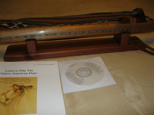 Native American Flute - Cherry - Spiritual Healing - Professional Model - Deep Key Low D