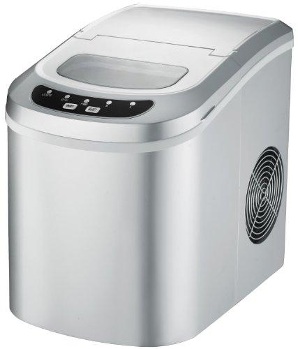 Spt Portable Ice Maker, Silver