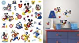 (10x18) Mickey & Friends - Mickey Mouse Clubhouse Capers Peel and Stick Wall Decals