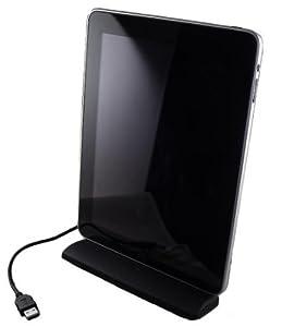 LuvTab iPad 1 / iPad 2 / iPad 3 / iPhone 4 / iPhone 4S USB 2.0 Desktop Stand Charger / Synchronization Dock