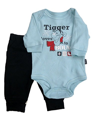 Disney Infant Boys Tigger Loves to Bounce Outfit Creeper T-Shirts & Sweats NB