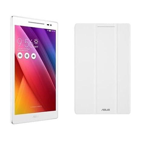 Tablette Asus Zenpad Z380CX-1B010A 8'' 16 Go Blanche WiFi + Coque Asus Blanche