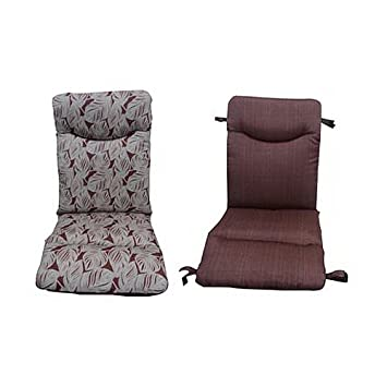 Lovely Courtyard Creations PASG TB Thick Universal Chair Cushion by by