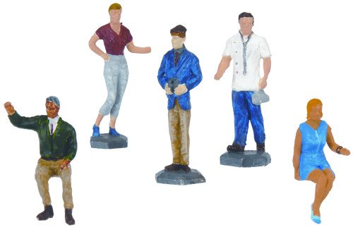 HO Figures, Undecorated (24) - 1