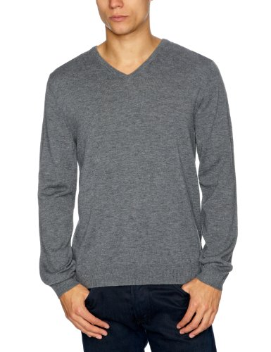 Esprit H30360 Men's Jumper Dusty Grey Melange Small