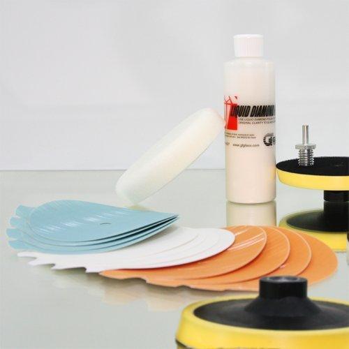 glass scratch repair kit plus 3 david geislerka. Black Bedroom Furniture Sets. Home Design Ideas