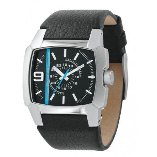 Diesel Men S DZ1131 Black Leather Watch