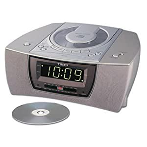 timex am fm cd clock radio t608t discontinued by manufacturer electronics. Black Bedroom Furniture Sets. Home Design Ideas