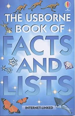 Usborne-Book-of-Facts-and-Records-Facts-amp-Lists-Clarke-Phillip-Used-Good-B