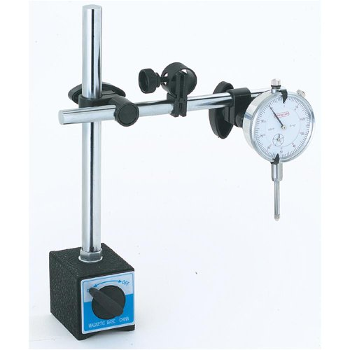 Grizzly G9849 Magnetic Base Dial Indicator Combo - President s SpecialB0000DD0YR