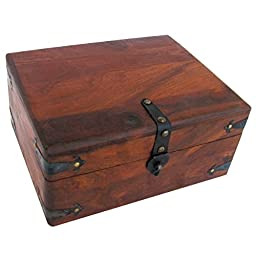 Antique Style Inkwell Storage Box